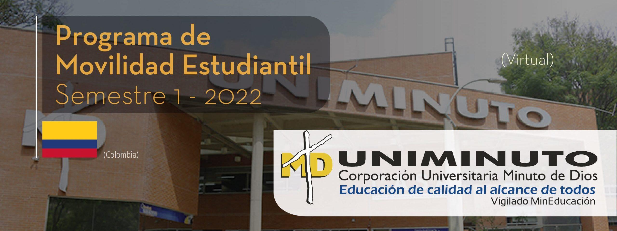 La Corporación Universitaria Minuto de Dios de Colombia es parte del Programa de Movilidad Estudiantil UCB por el Mundo.